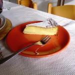 Una fetta di Torta Margherita