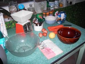 Ingredienti - Ingredientes