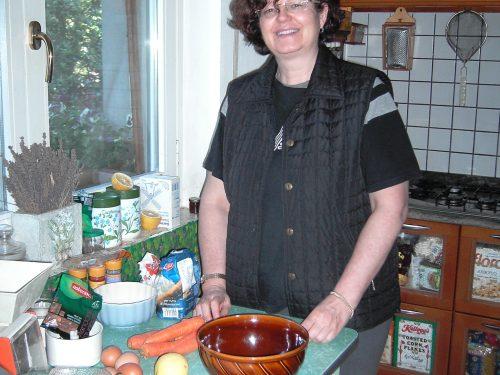 La Torta di carote di Anna…La Torta de zanahorias de Anna…