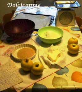 Ingredienti Torta di mele