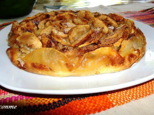 La Torta di mele con un uovo…La Torta de manzana con un huevo…