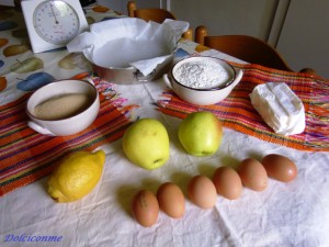 Torta di mele ingredienti