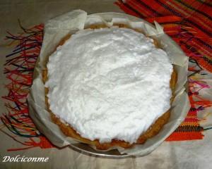 Meringata della torta di mele