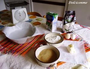 Ingredienti Torta di cocco
