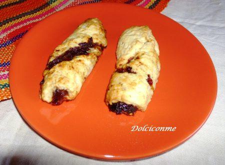 I Rotolini con marmellata…Los Rollos con mermelada
