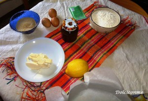 Ingredienti torta morbida con marmellata