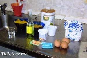 Ingredienti Torta allo yogurt