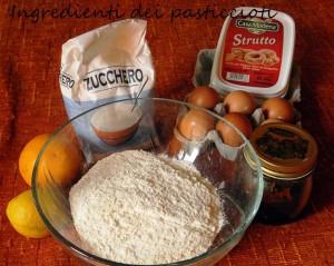 Ingredienti dei Pasticciotti