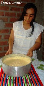 La torta de zanahoria blanca