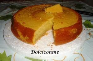 Torta de zanahoria blanca o arracacha