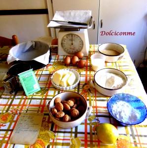Ingredienti Torta di amaretti