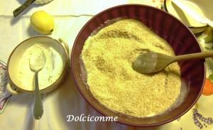 Aggiunta della farina e altri ingredienti