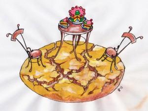 La Torta di amaretti