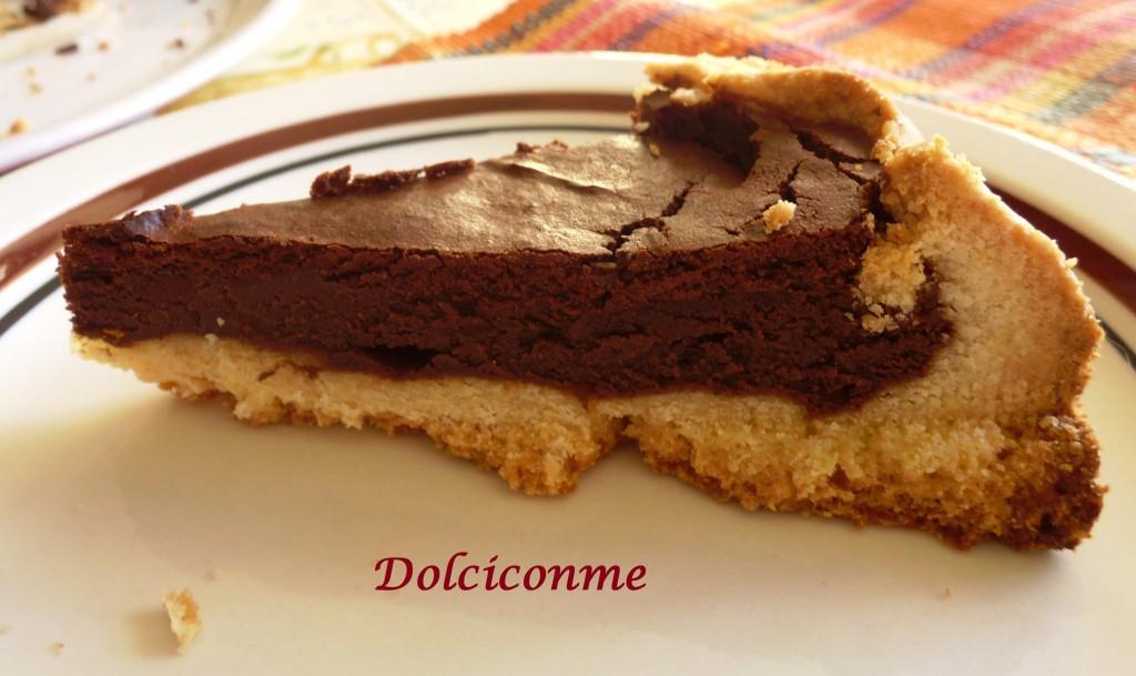 Dolce di ricotta al cioccolato