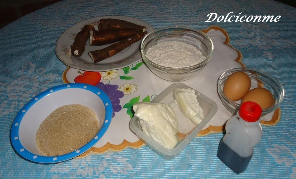 Ingredientes rosquitas de yuca