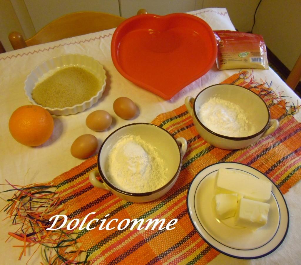 Ingredienti Torta sombrero