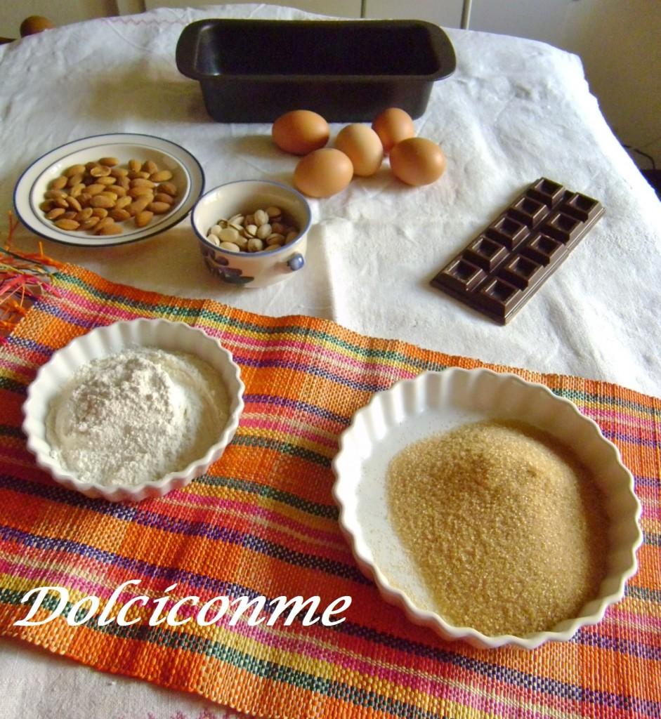 Ingredienti Pane dolce al cioccolato