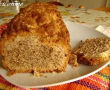 Dolci per la colazione: il Pane con le noci. Dulces para el desayuno: el Pan con nueces.