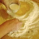 Sciogliere il lievito con il latte