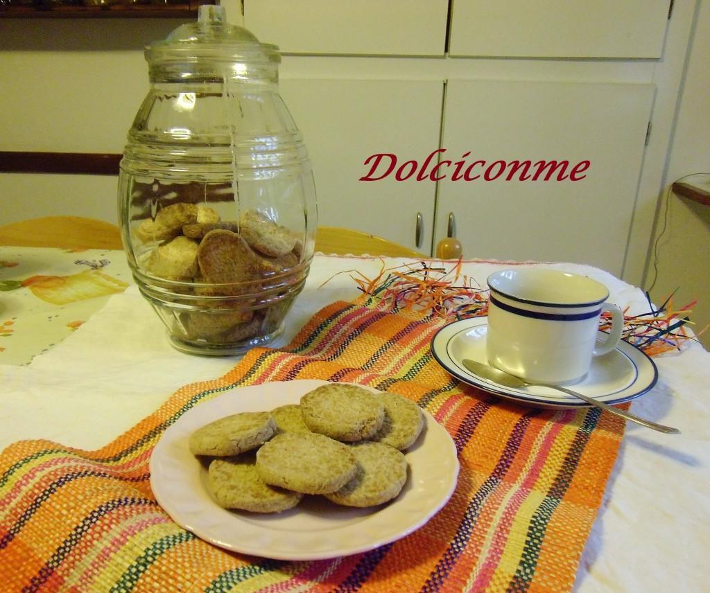 Biscottini di avena