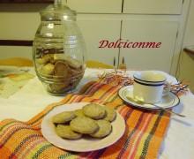 Dolci per la colazione: i biscottini di avena. Dulces para el desayuno: las galletas de avena.