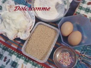 Ingredientes Pasteles