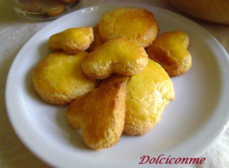 Dolci per la colazione: i biscotti casalinghi. Dulces para el desayuno: las galletas caseras.