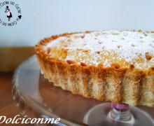 "La ""Torta della nonna"" di Simona. La ""Torta de la abuela"" de Simona."