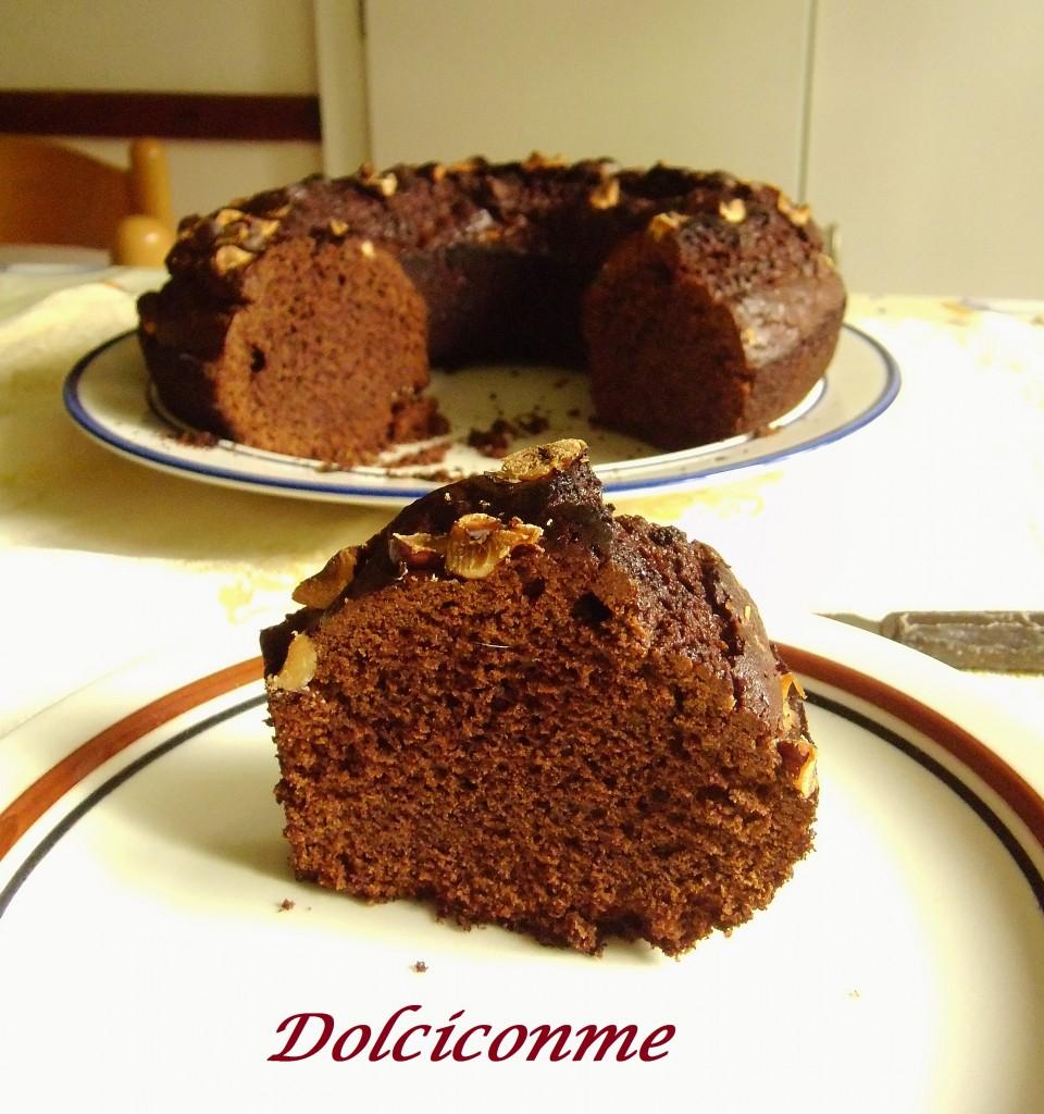 Fetta di Ciambella al cioccolato