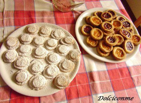 Dolci per la colazione: i Biscotti di pasta frolla. Dulces para el desayuno: las Galletas de pasta frola