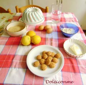 Ingredienti Budino al limone
