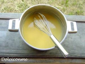 Crema dopo la cottura