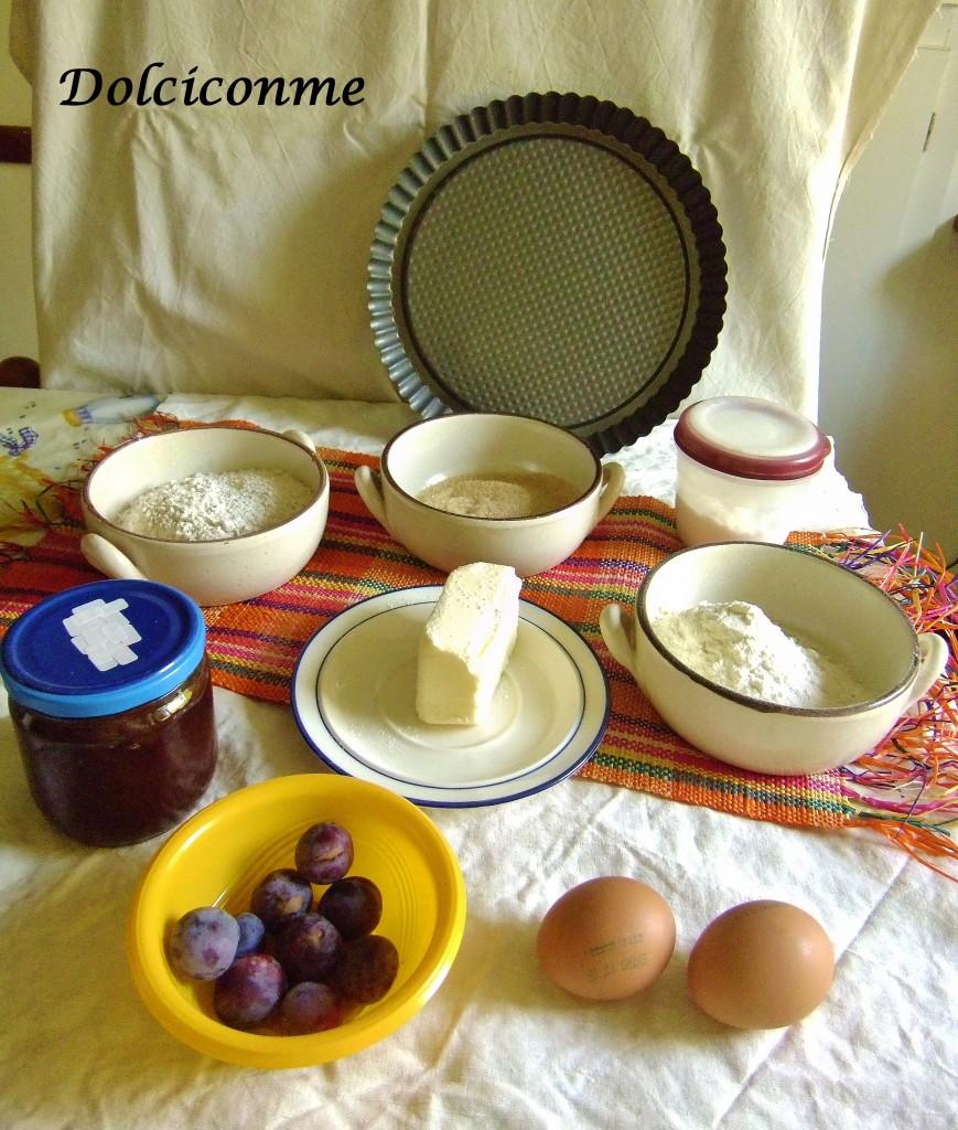 Ingredienti Crostata estiva