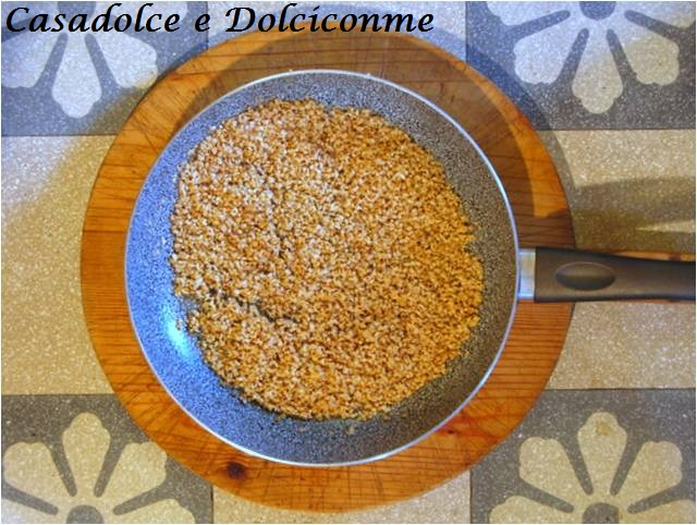 Nocciole rosolate