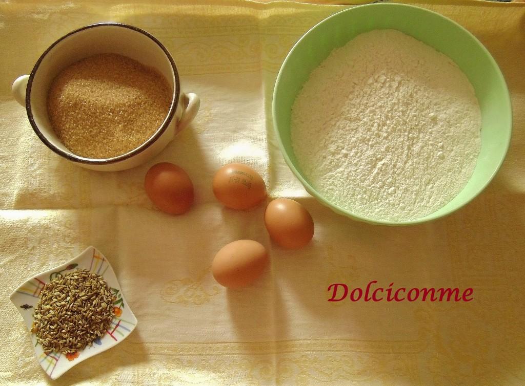Ingredienti Pan d'anice