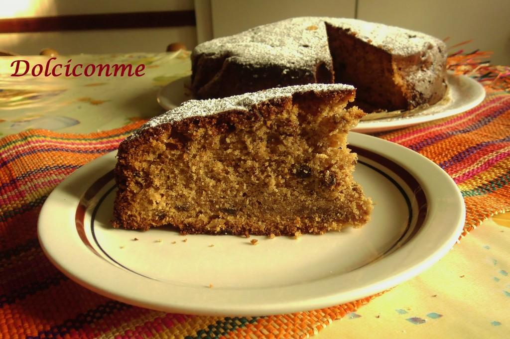 La Torta di prugne secche e noci