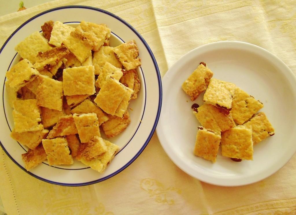 Las galletitas con pasas