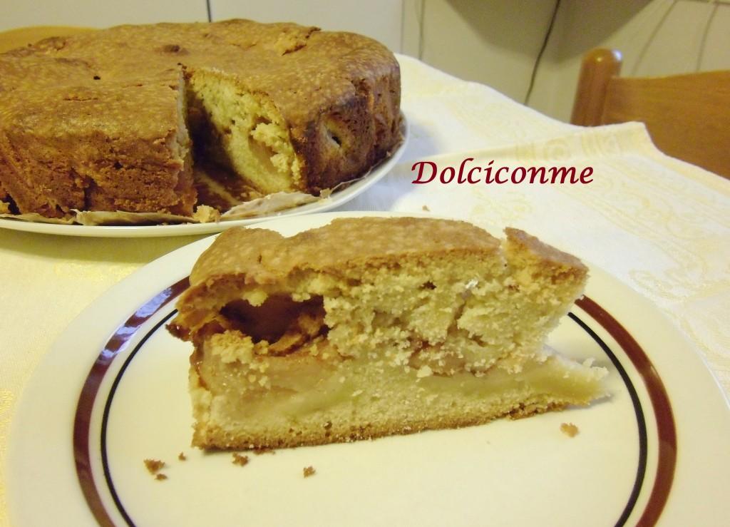 Tajada de Torta de manzanas cuatro cuartos