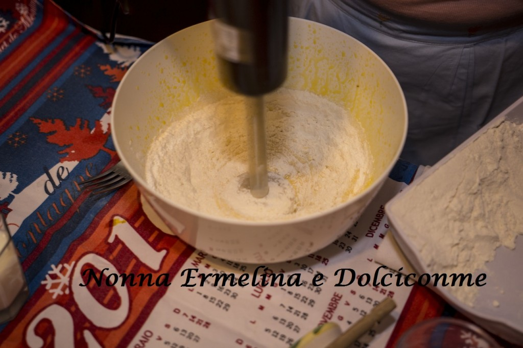 Aggiunta della farina