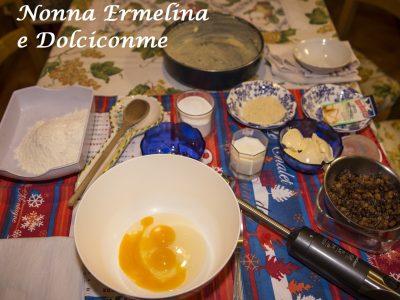 Ingredienti Torta tipo penettone