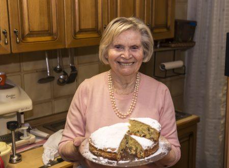La Torta tipo panettone di Nonna Ermelina. La Torta tipo panettone de la Abuela Ermelina.