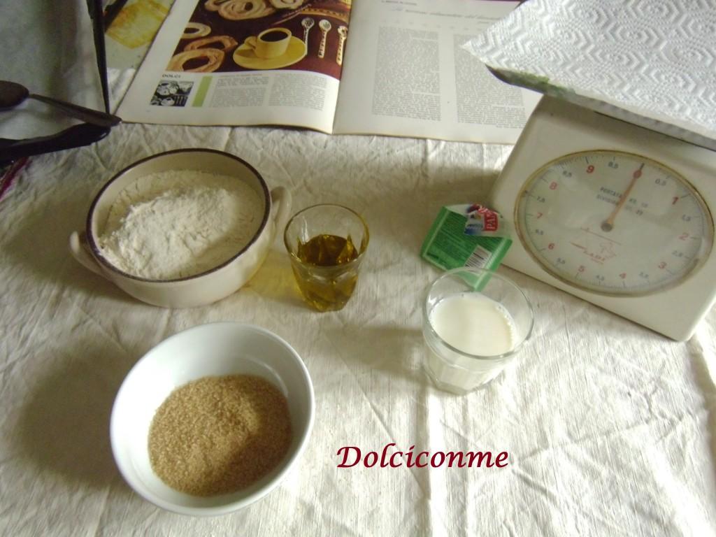 Ingredienti della Ciambelle