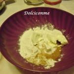 Ingredienti per la pasta della Crostata di ricotta