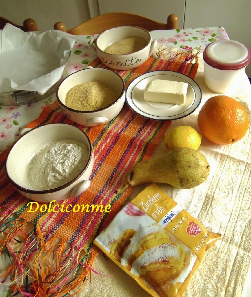 Ingredienti Torta d'oro