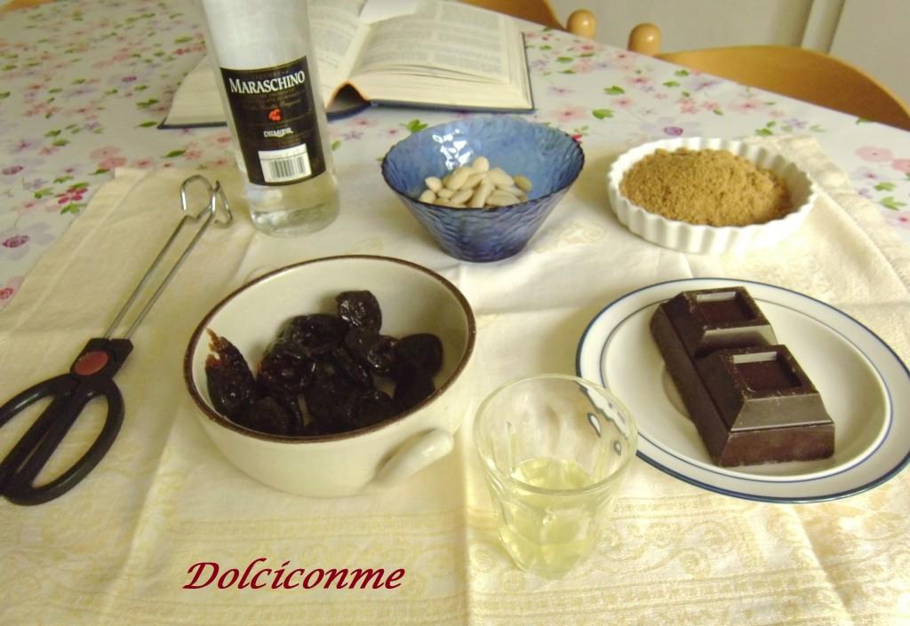 Ingredienti Prugne farcite