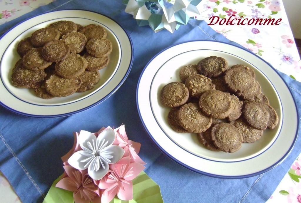 Biscotti al cacao e al caffè