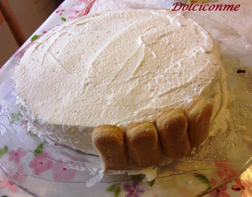 Guarnizione della mia torta dei compleanni