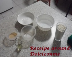 Ingredienti Hotteok per il dolce