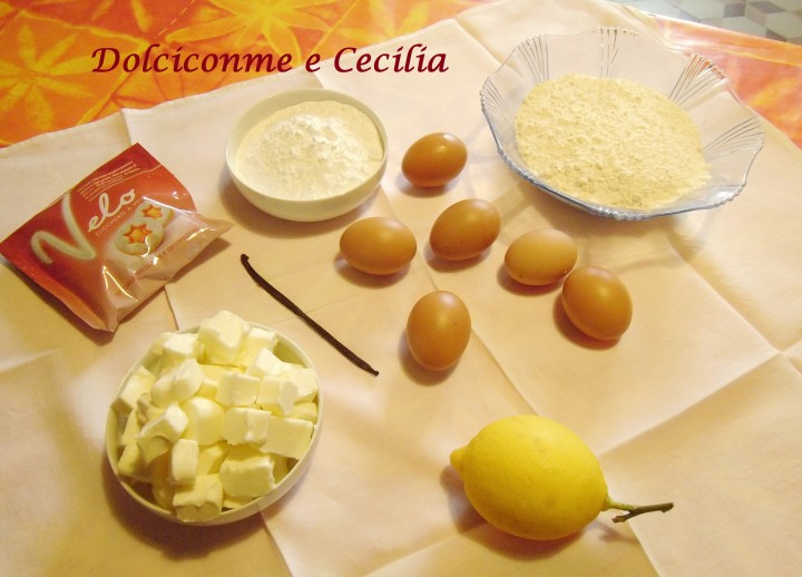 Ingredienti Canestrelli