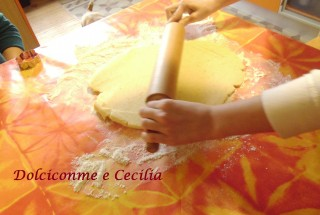 Pasta tirata per Canestrelli